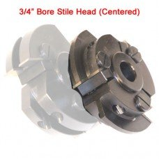 Centered Stile Cutter Head with 3/4