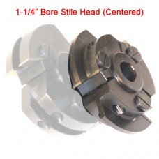 Centered Stile Cutter Head with 1-1/4