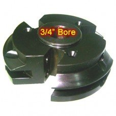 Left Hand (LH) Rail Cutter Head with 3/4