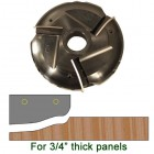 Raised Panel Heads with Inserts, Profile P202RHS, 1-1/4