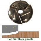 Raised Panel Heads with Inserts, Profile P203RHS, 1-1/4