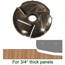 Raised Panel Heads with Inserts, Profile P204LHS, 1-1/4