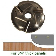 Raised Panel Heads with Inserts, Profile P205LH, 1-1/4