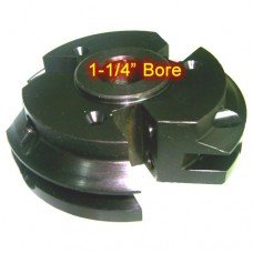 Right Hand (RH) Rail Cutter Head with 1-1/4