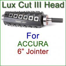 Lux Cut III Head for ACCURA 6'' Jointer