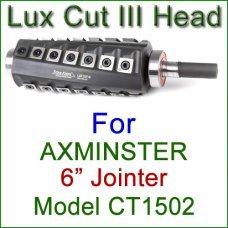 Lux Cut III Head for AXMINSTER 6'' Jointer, Model CT1502