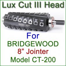 Lux Cut III Head for BRIDGEWOOD 8'' Jointer, Model CT-200