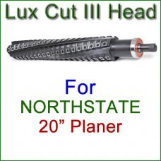 Lux Cut III Head for NORTHSTATE 20'' Planer
