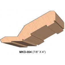 SINGLE Molding Knife for Cabinet MWC-004 (Profile Width: 4'') for Woodmaster and similar machines