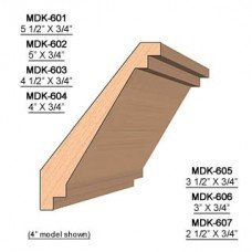 SINGLE Molding Knife for Crown MWC-606 (Profile Width: 3'') for Woodmaster and similar machines