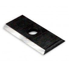 7.5mm x 12mm x 1.5mm - Set of 10 Rectangular Carbide Insert Knives (ICK)