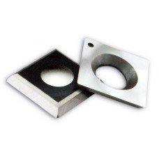 14mm x 14mm x 2.0mm - Set of 10 Square Carbide Insert Knives (ICK)