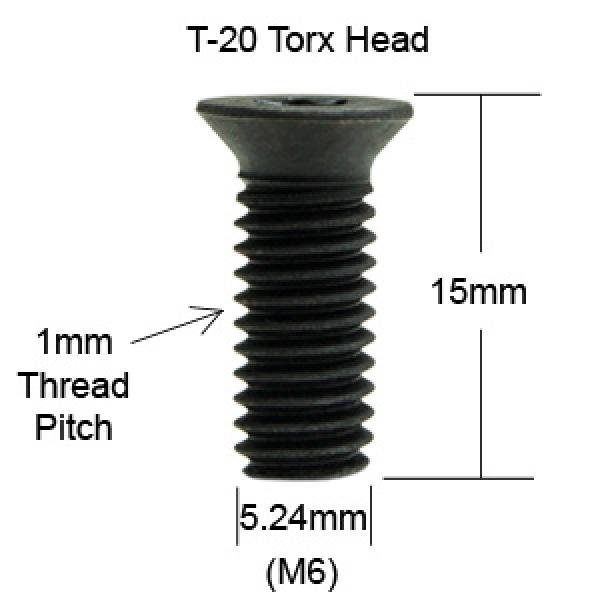 Spare Screws For Spiral Head Insert Knives Box Of 10