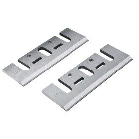 Set of 2 Carbide Blades (Single Edge) - Length: 3-1/4