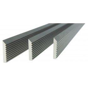 Set of 3 HSS-V2 Corrugated Blades - Length: 20-1/2