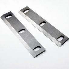 "Set of 2 HSS Blades (Single Edge) - Length: 5-3/16"", Width: 7/8"", Thickness: 1/16"""