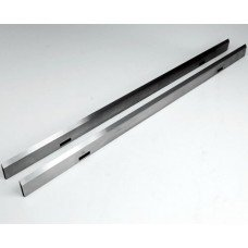 "Set of 2 HSS-V2 Blades - Length: 16-5/32"" (410mm), Width: 25/32"" (20mm), Thickness: 1/8"" (3mm)"