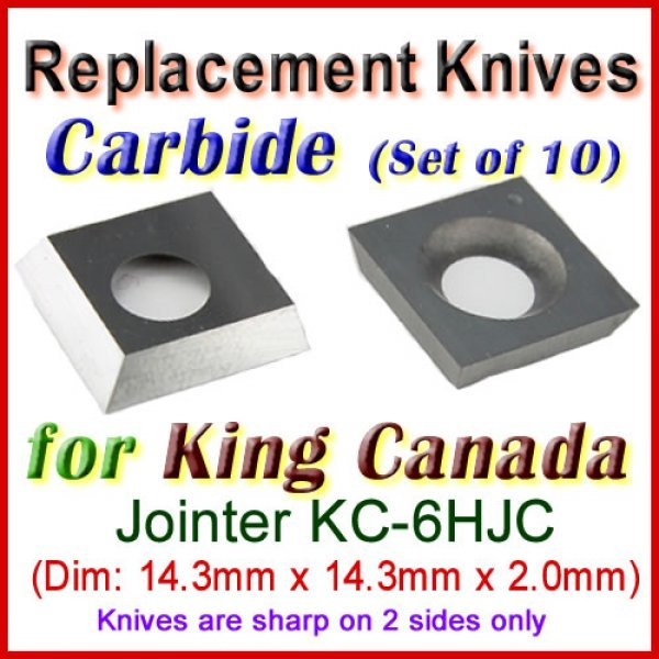 Replacement Knives for most Planers and Jointers (straight and h