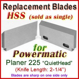 Set of 1 HSS-V2 Blades - Length: 2-1/4