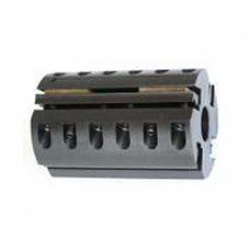 Shaper Cutter Head for corrugated knives (Byrd Tool), Bore: 1 1/4'', Width: 6'', Diameter: 4'', for 4 knives