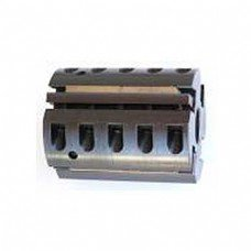 Shaper Cutter Head for corrugated knives (Byrd Tool), Bore: 1 1/2'', Width: 5'', Diameter: 122mm, for 4 knives