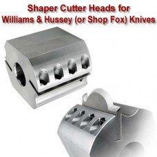 Shaper Head for William & Hussey Knives (Titan Brand), Bore: 1 1/4'', Width: 4'', Diameter: 100mm