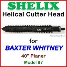 SHELIX for BAXTER WHITNEY 40'' Planer, Model 97