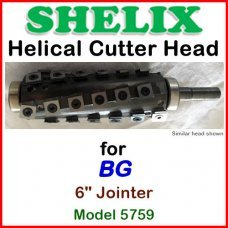 SHELIX for BG 6'' Jointer, Model 5759