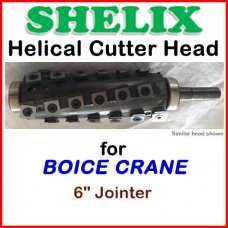 SHELIX for BOICE CRANE 6'' Jointer