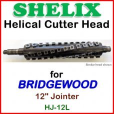 SHELIX for BRIDGEWOOD 12'' Jointer, HJ-12L
