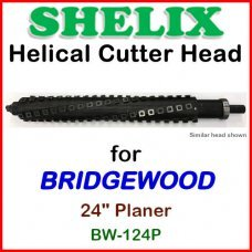 SHELIX for BRIDGEWOOD 24'' Planer, BW-124P