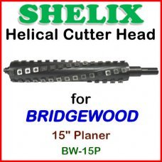 SHELIX for BRIDGEWOOD 15'' Planer, BW-15P