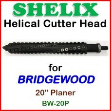 SHELIX for BRIDGEWOOD 20'' Planer, BW-20P