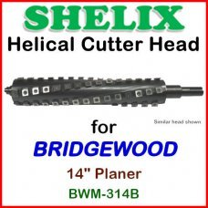 SHELIX for BRIDGEWOOD 14'' Planer, BWM-314B