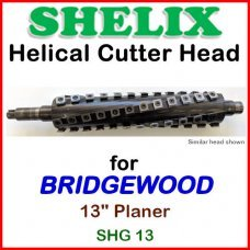 SHELIX for BRIDGEWOOD 13'' Planer, SHG 13