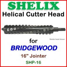 SHELIX for BRIDGEWOOD 16'' Jointer, SHP-16