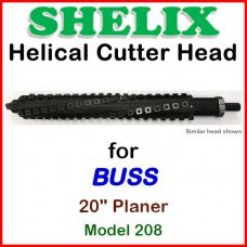 SHELIX for BUSS 20'' Planer, Model 208