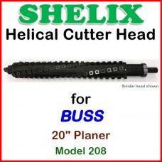 SHELIX for BUSS 20'' Planer, Model 208