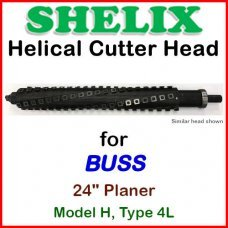 SHELIX for BUSS 24'' Planer, Model H, Type 4L