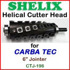 SHELIX for CARBA TEC 6'' Jointer, CTJ-196