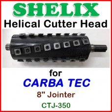 SHELIX for CARBA TEC 8'' Jointer, CTJ-350
