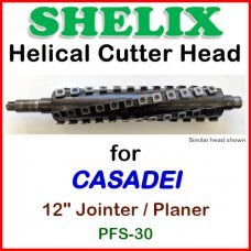 SHELIX for CASADEI 12'' Planer, PFS-30 Jointer-Planer
