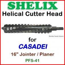 SHELIX for CASADEI 16'' Planer, PFS-41 Jointer-Planer
