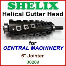 SHELIX for CENTRAL MACHINERY 6'' Jointer, 30289