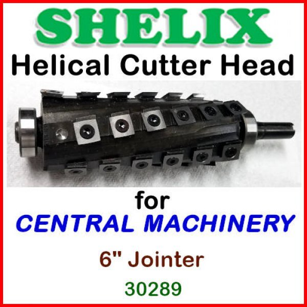 Shelix For Central Machinery 6 Jointer 30289