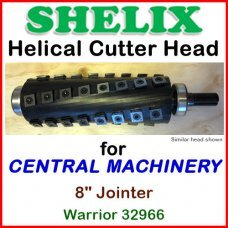 SHELIX for CENTRAL MACHINERY 8'' Jointer, Warrior 32966