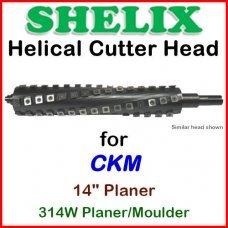 SHELIX for CKM 14'' Planer, 314W Planer-Moulder