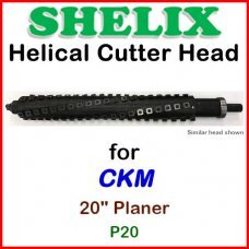 SHELIX for CKM 20'' Planer, P20