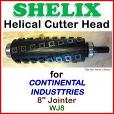 SHELIX for CONTINENTAL INDUSTRIES 8'' Jointer, WJ8