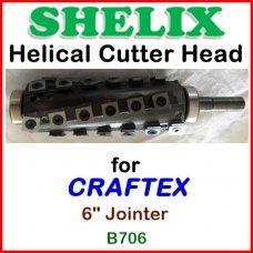 SHELIX for CRAFTEX 6'' Jointer, B706